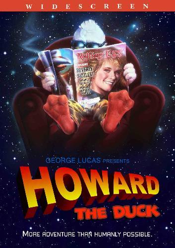 Howard The Duck Movie Poster howard the duck movie dvd
